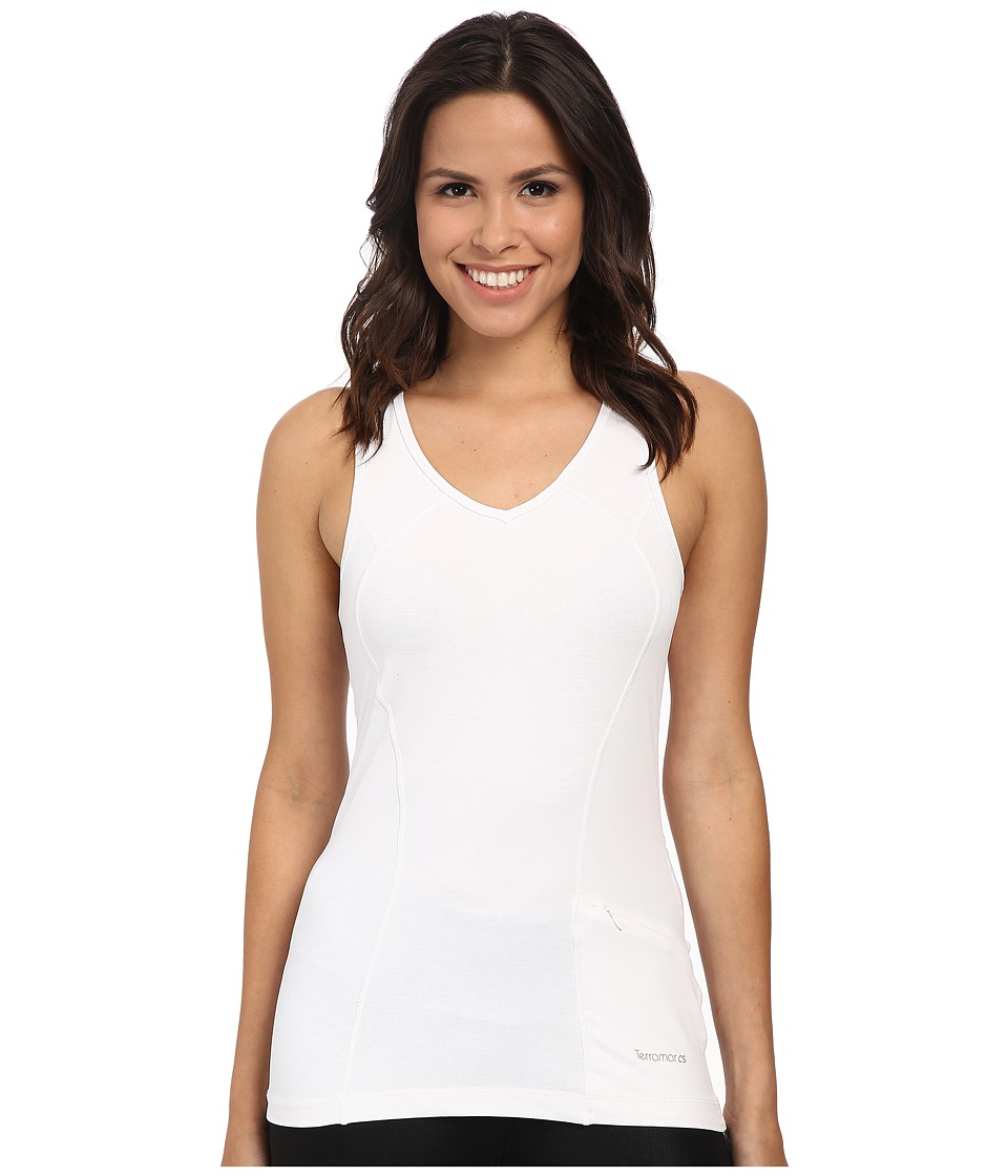 Terramar - Reflex Tank Top W8792 (White) Women's Sleeveless