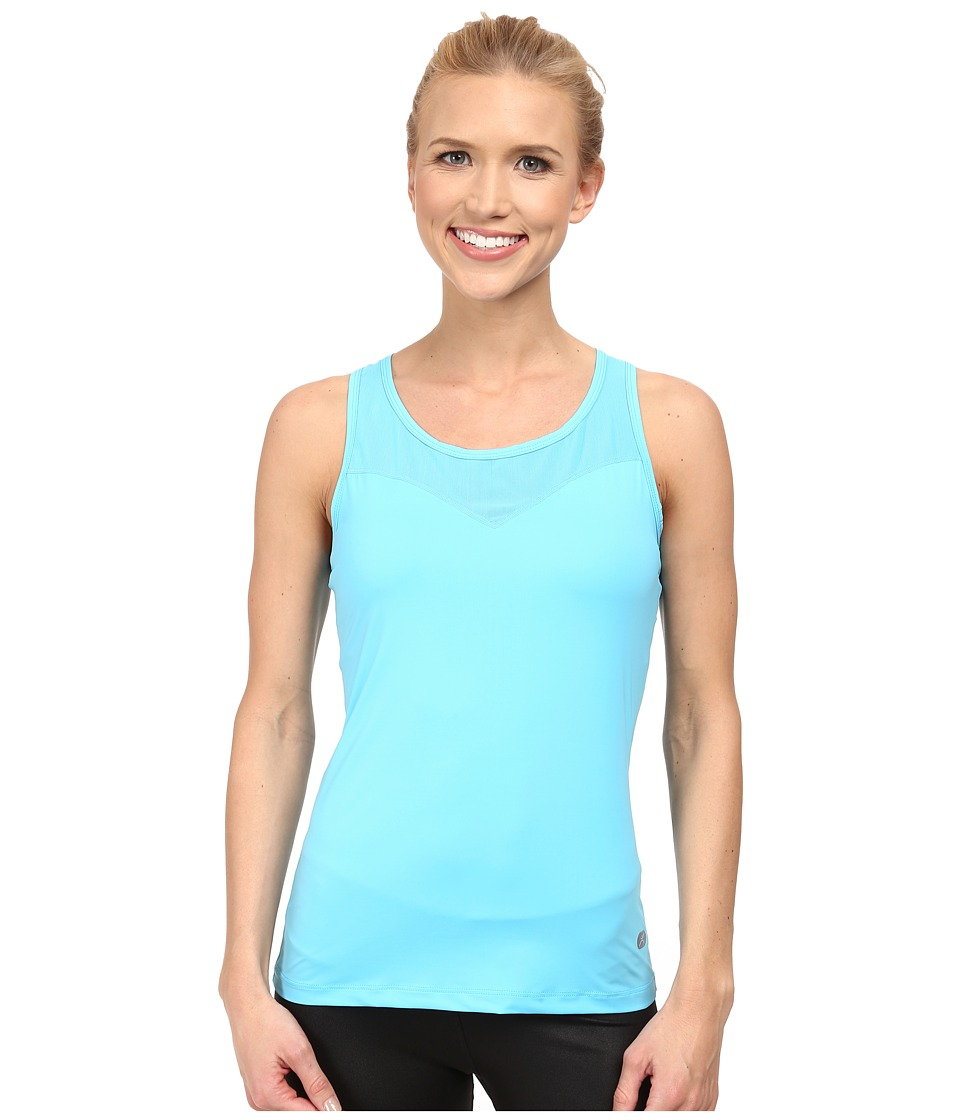 Terramar - Microcool Tank Top W8824 (Bluebird) Women's Sleeveless