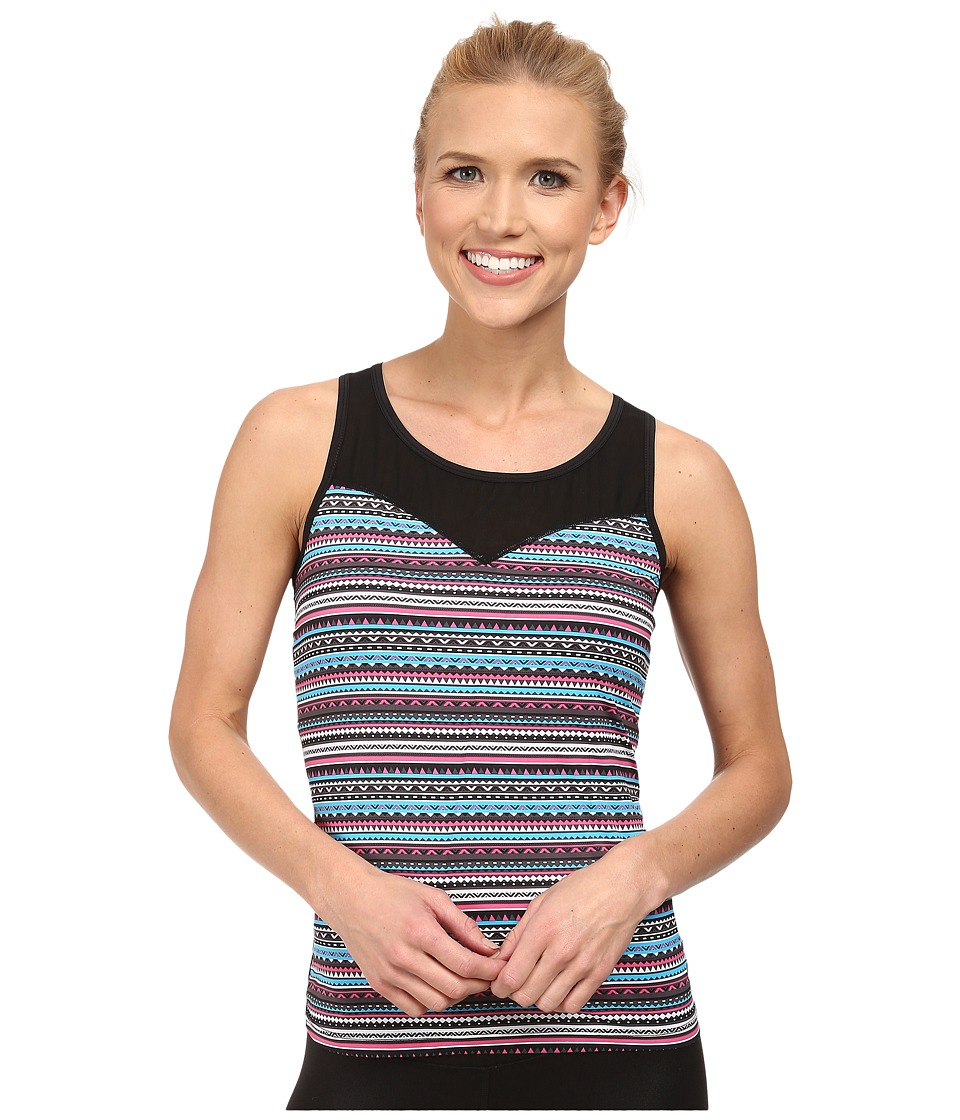 Terramar - Microcool Tank Top W8824 (Aztec Print) Women's Sleeveless