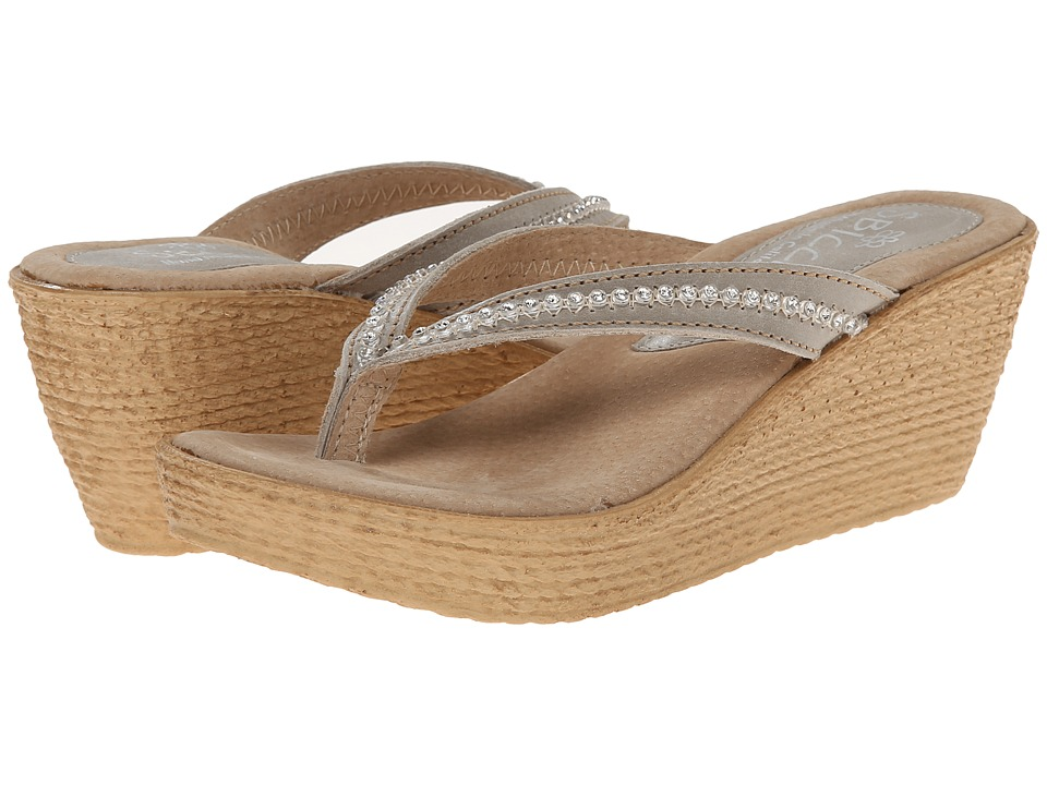 Sbicca - Moonbay (Stone) Women's Wedge Shoes