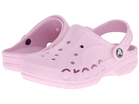 Crocs Kids - Baya (Toddler/Little Kid) (Ballerina Pink) Kids Shoes