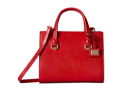 Dolce & Gabbana - Iguana Mini Bag (Rosso/Rosso) Satchel Handbags