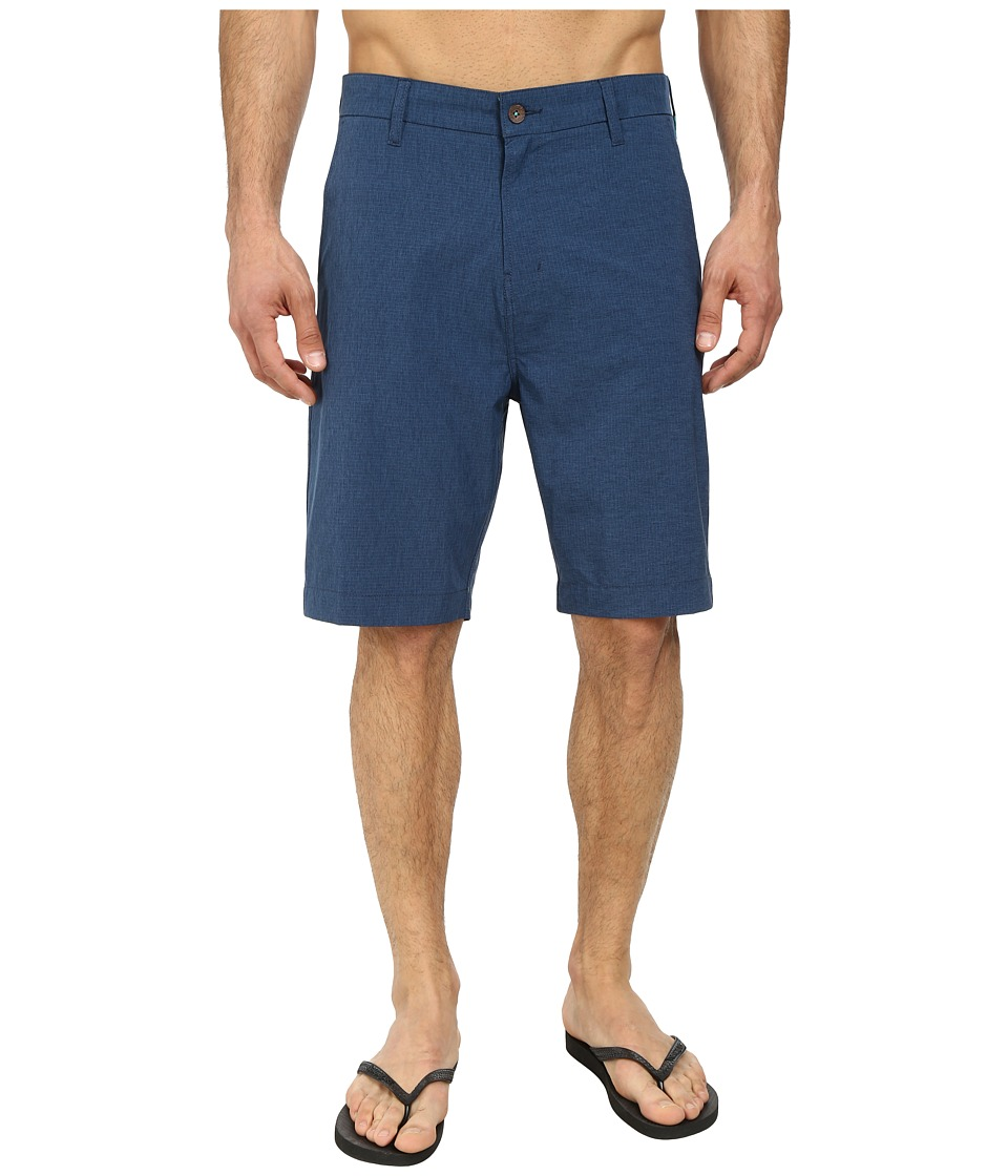 VISSLA - Tide Stripe Hybrid (Naval) Men's Shorts