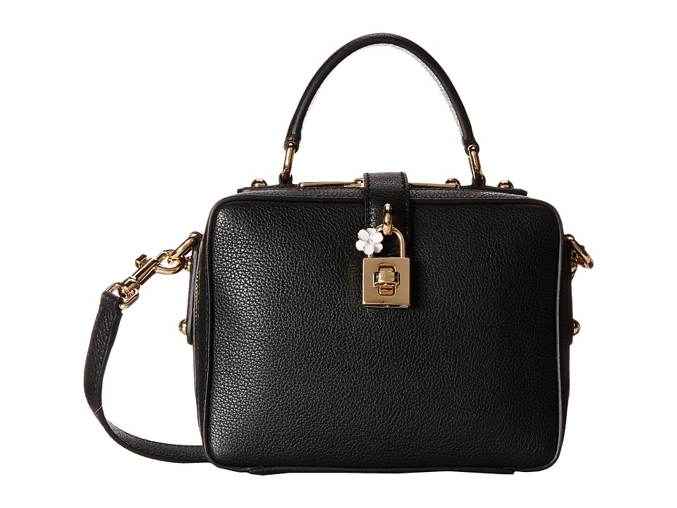 Dolce & Gabbana - Mini Bag w/ Shoulder Strap (Nero) Top-handle Handbags