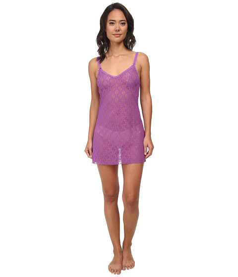 b.tempt'd - Lace Kiss Chemise (Dewberry) Women's Pajama