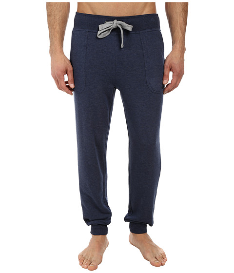 2(X)IST - Core Terry Sweatpant (Denim Heather) Men's Casual Pants