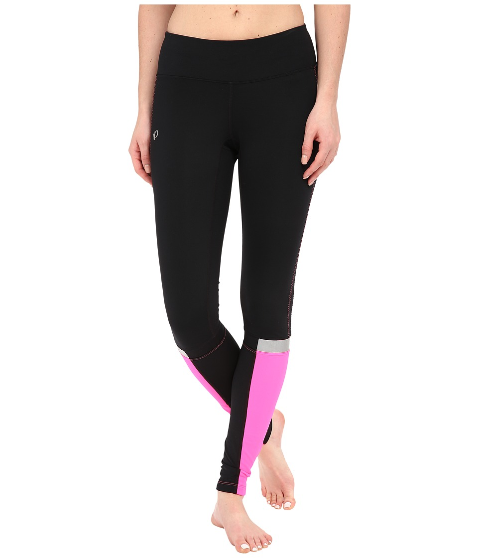 Pearl Izumi - Fly Thermal Run Tights (Black/Screaming Pink) Women's Workout