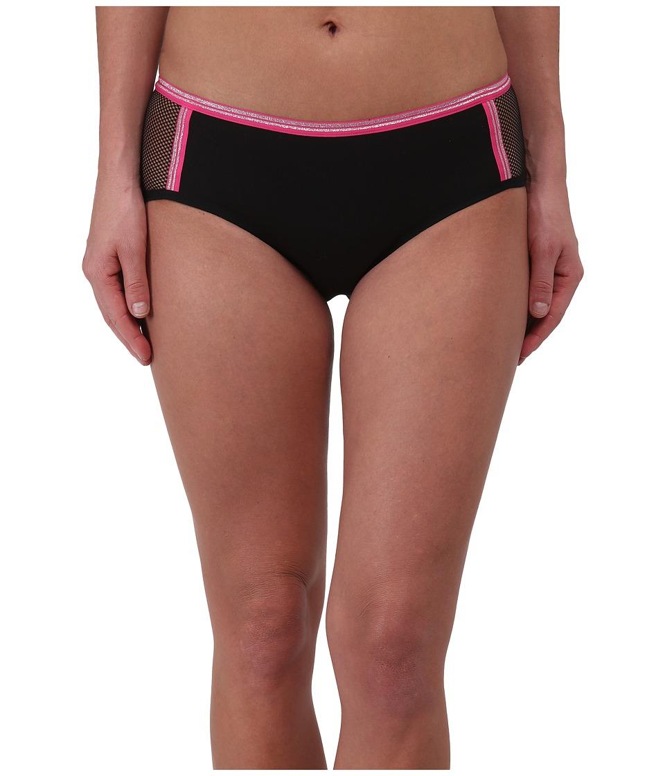 Image of b.tempt'd - b.Active Boyshorts (Night/Fuchsia) Women's Underwear