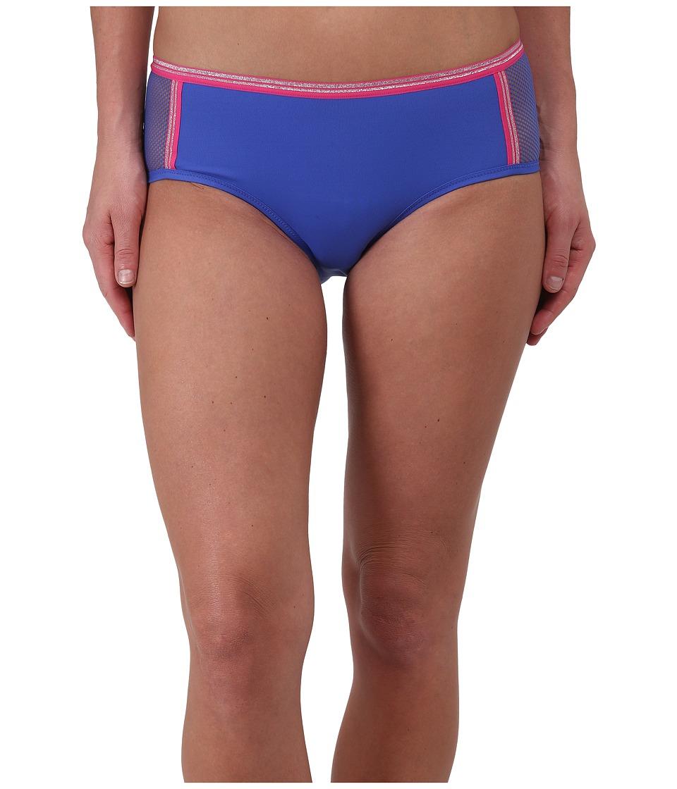 Image of b.tempt'd - b.Active Boyshorts (Dazzling Blue/Fuchsia) Women's Underwear