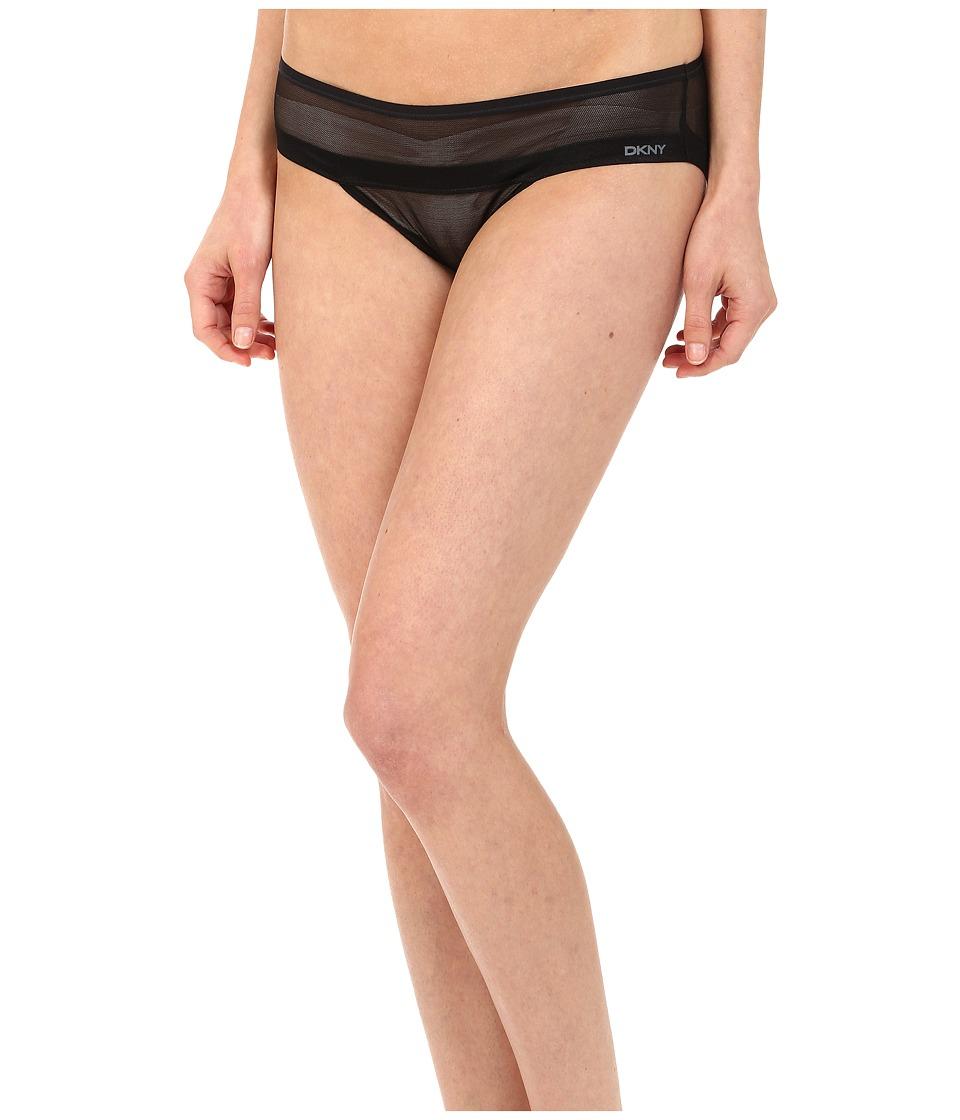 DKNY Intimates - Mesh Hipster DK2001 (Black) Women's Underwear
