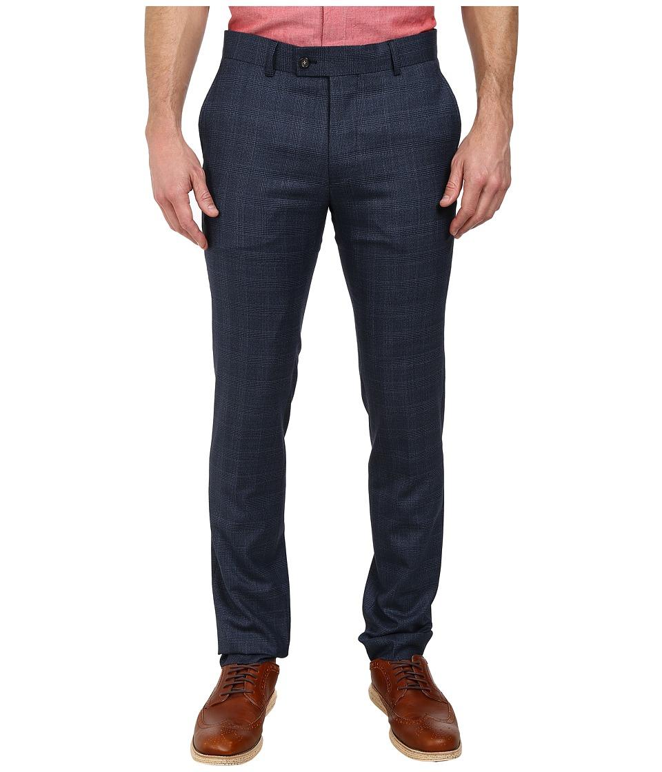 Moods of Norway - Stein Flor Suit Pants (Mid Blue) Men's Dress Pants