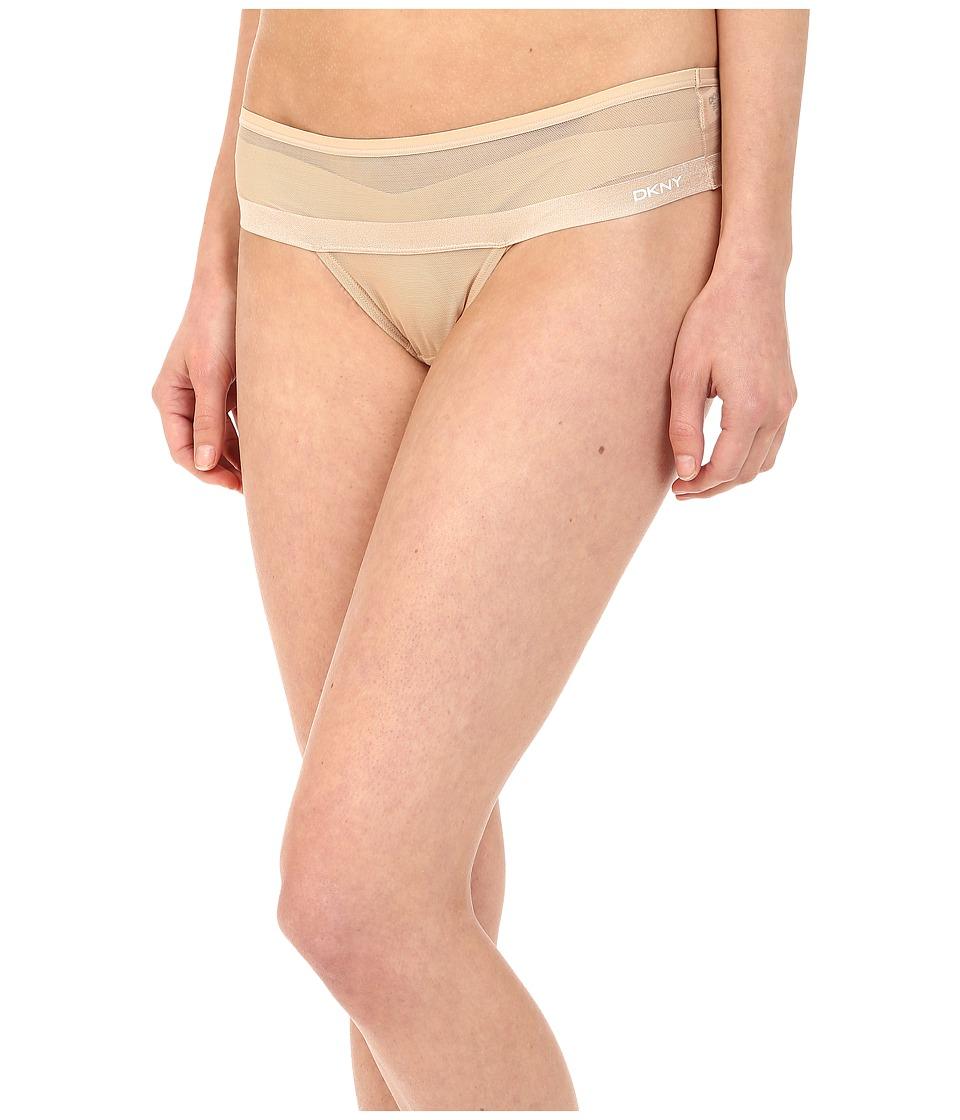 DKNY Intimates - Mesh Thong DK2000 (Skinny Dip) Women's Underwear
