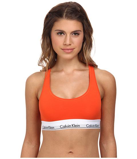 Calvin Klein Underwear - Modern Cotton Bralette F3785 (Desert Hibiscus) Women's Bra