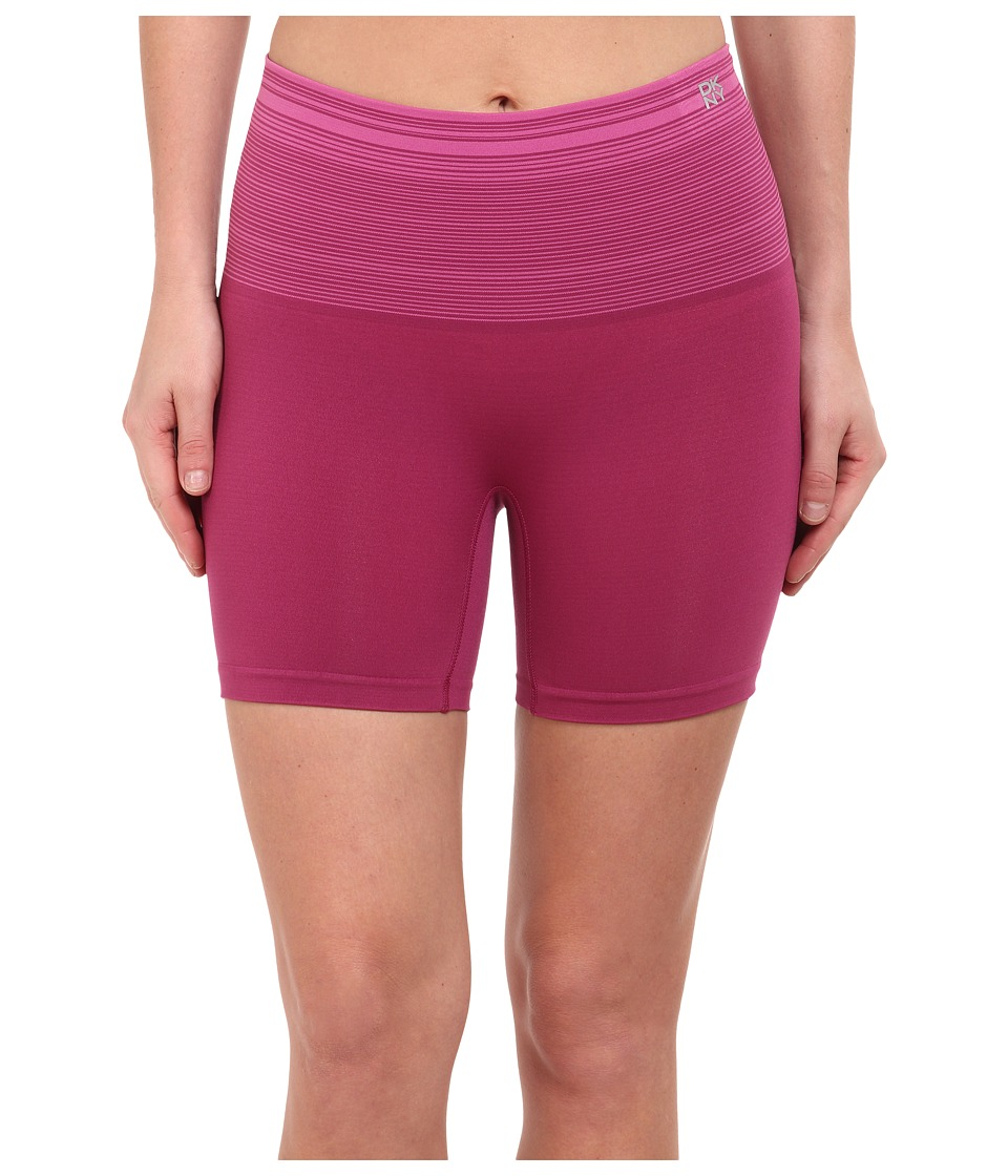DKNY Intimates - Fusion Sport Smoothies Shortie (Bordeaux Stripe) Women's Underwear