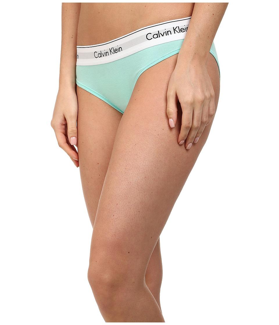 Calvin Klein Underwear - Modern Cotton Bikini (Summer Pine) Women's Underwear