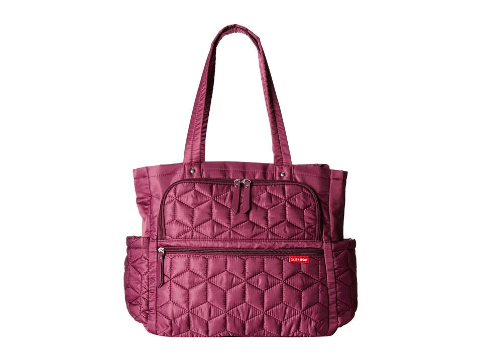 Skip Hop - Forma Pack Go Diaper Tote (Berry) Tote Handbags