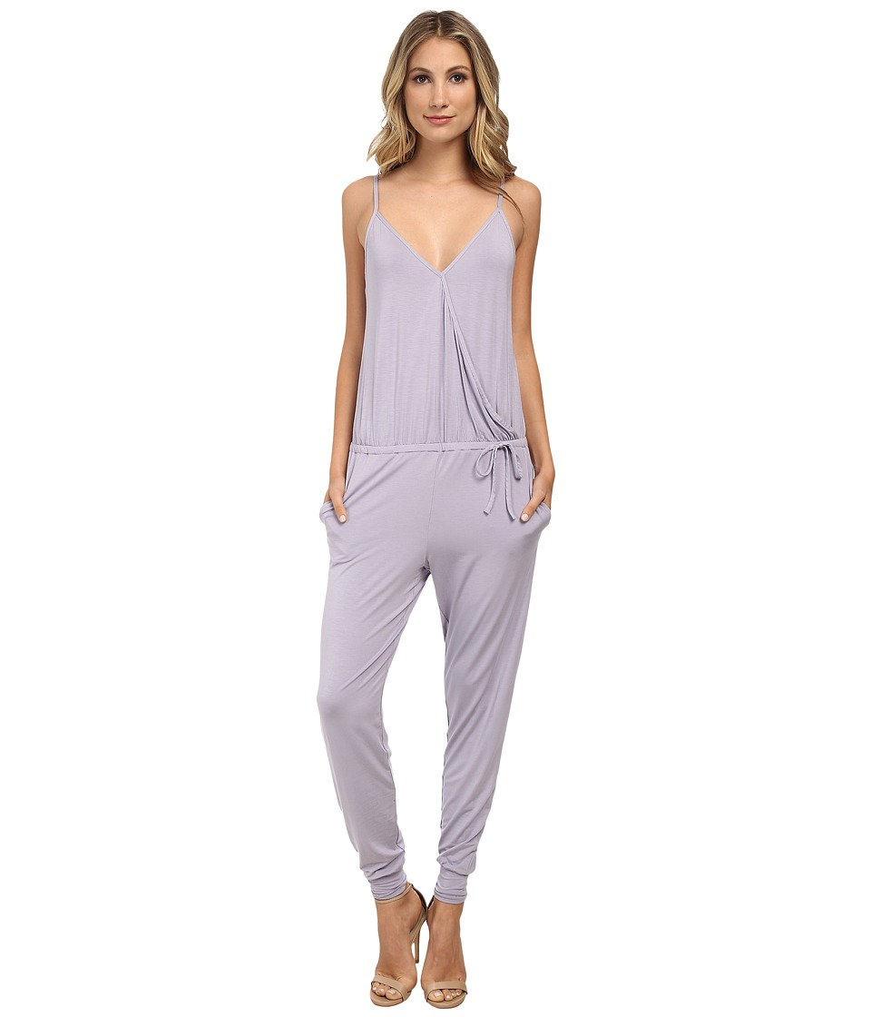 Calvin Klein Underwear - Sleepwear Jumpsuit (Pumice Stone) Women's Jumpsuit & Rompers One Piece