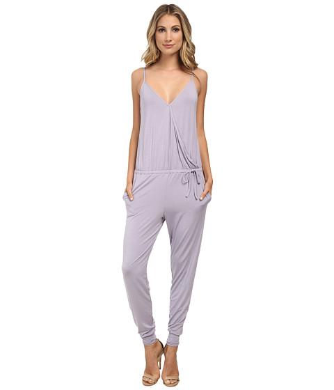 Calvin Klein Underwear - Sleepwear Jumpsuit (Pumice Stone) Women's Jumpsuit & Rompers One Piece