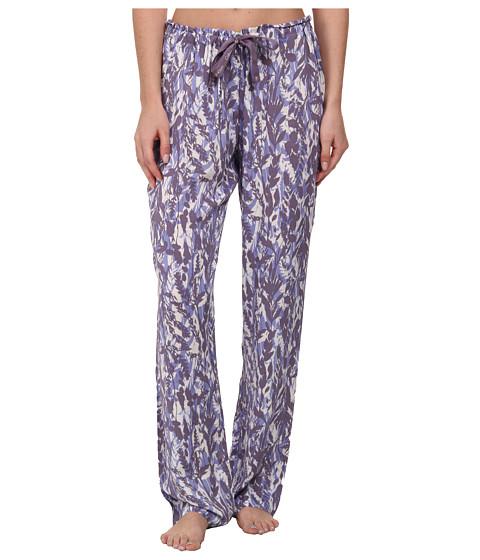 Calvin Klein Underwear - Printed Viscose PJ Pant (Garden Print/Purity) Women