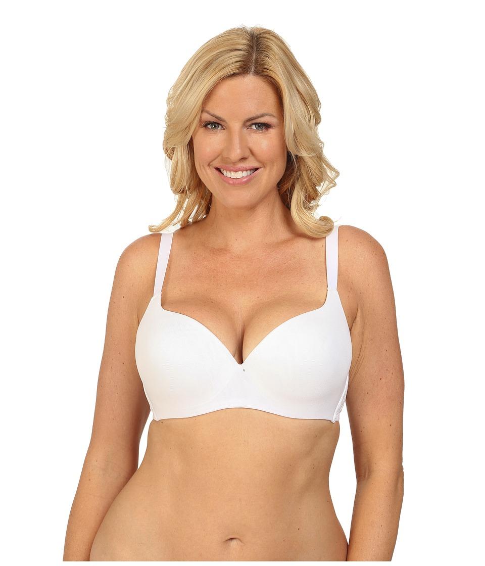 Cosabella - Never Say Never Demie Cup Bra (White) Women's Bra