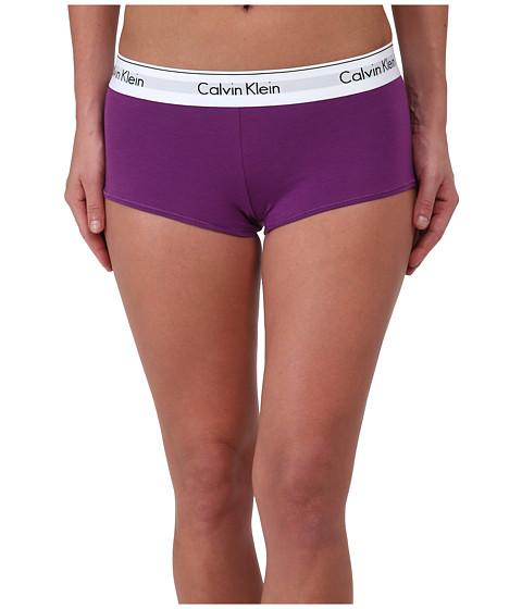 Calvin Klein Underwear - Modern Cotton Boyshort (Wild Iris) Women's Underwear