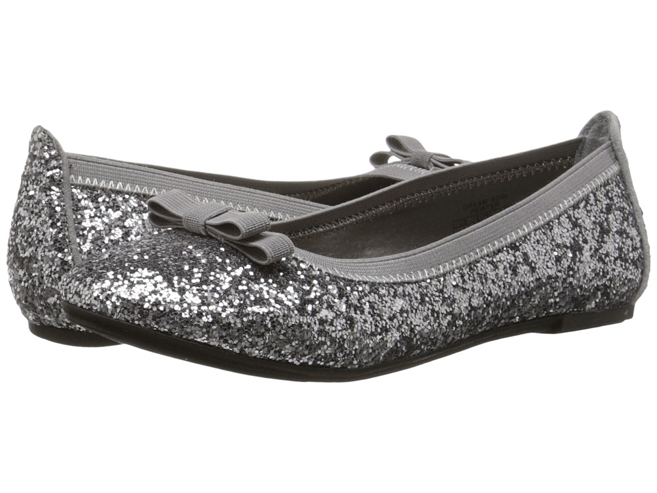 Elie Tahari Kids - Dream Bow (Little Kid/Big Kid) (Pewter) Girls Shoes