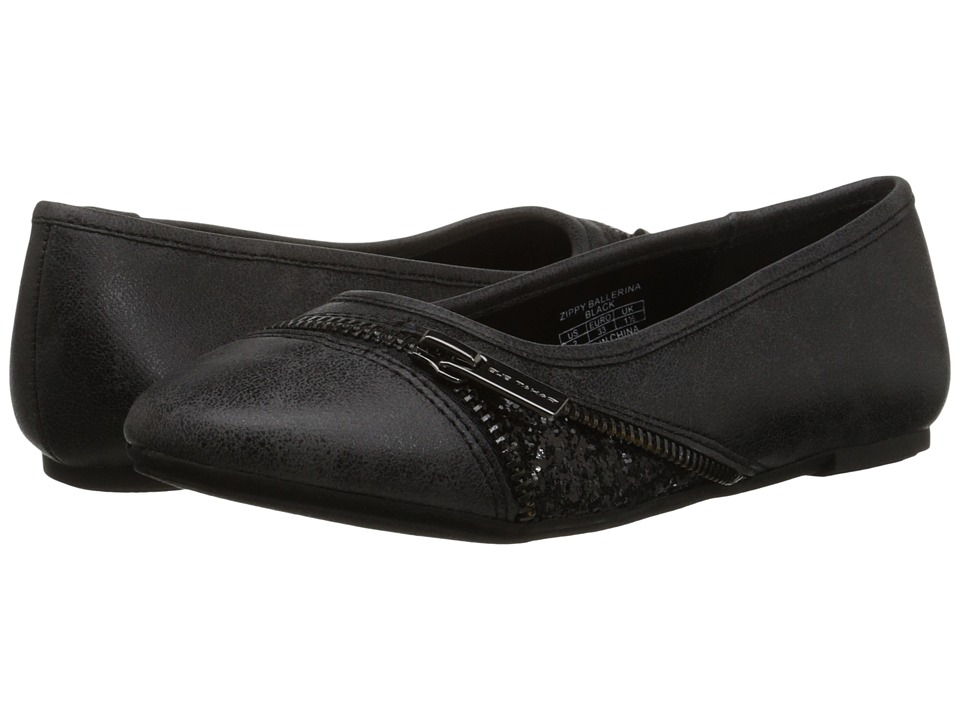 Elie Tahari Kids - Zippy Ballerina (Little Kid/Big Kid) (Black) Girl
