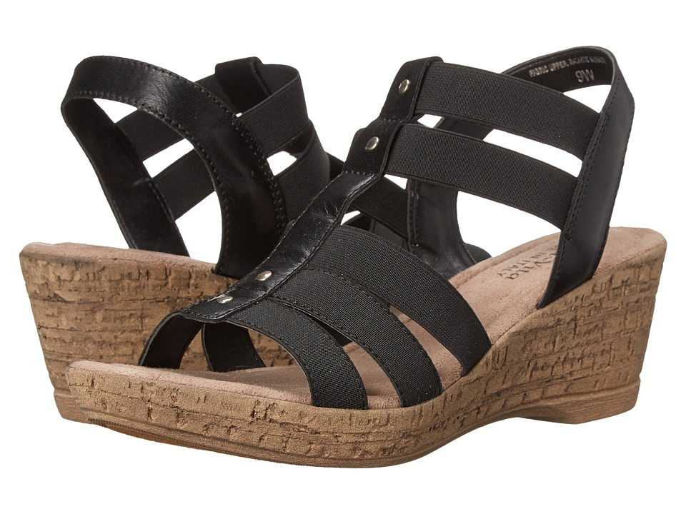 Bella-Vita - Ravenna (Black) Women's Wedge Shoes