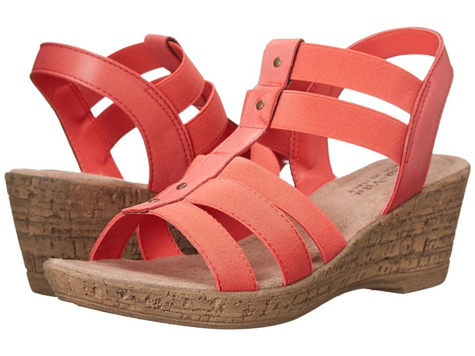 Bella-Vita - Ravenna (Coral) Women's Wedge Shoes