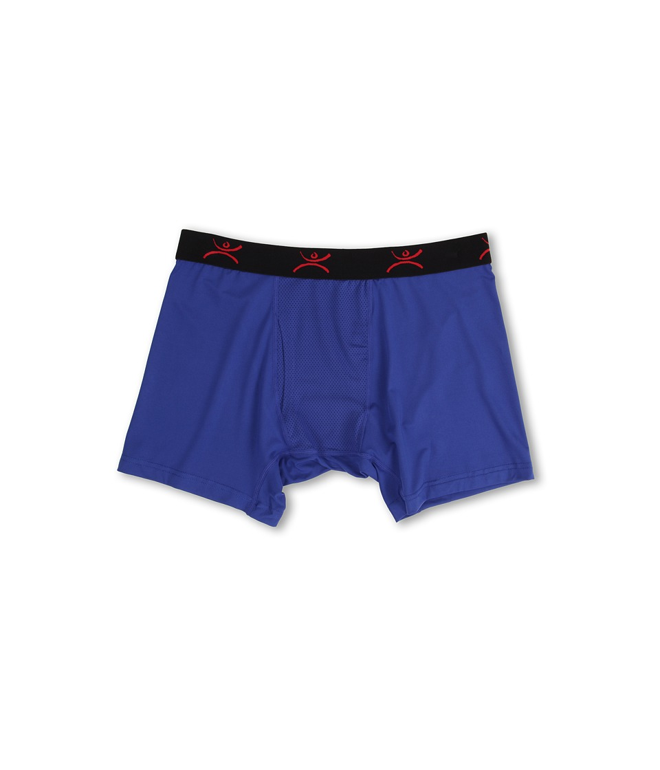 Terramar - Performance Pro Jersey Boxer Brief 6 W8377 1-Pair Pack (Indigo) Men's Underwear