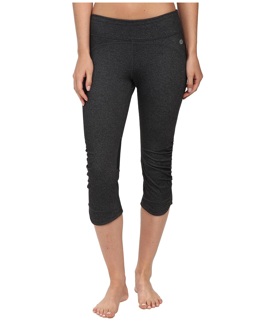 Terramar - Reflex Tulip Capris W8844 (Charcoal Heather) Women's Capri