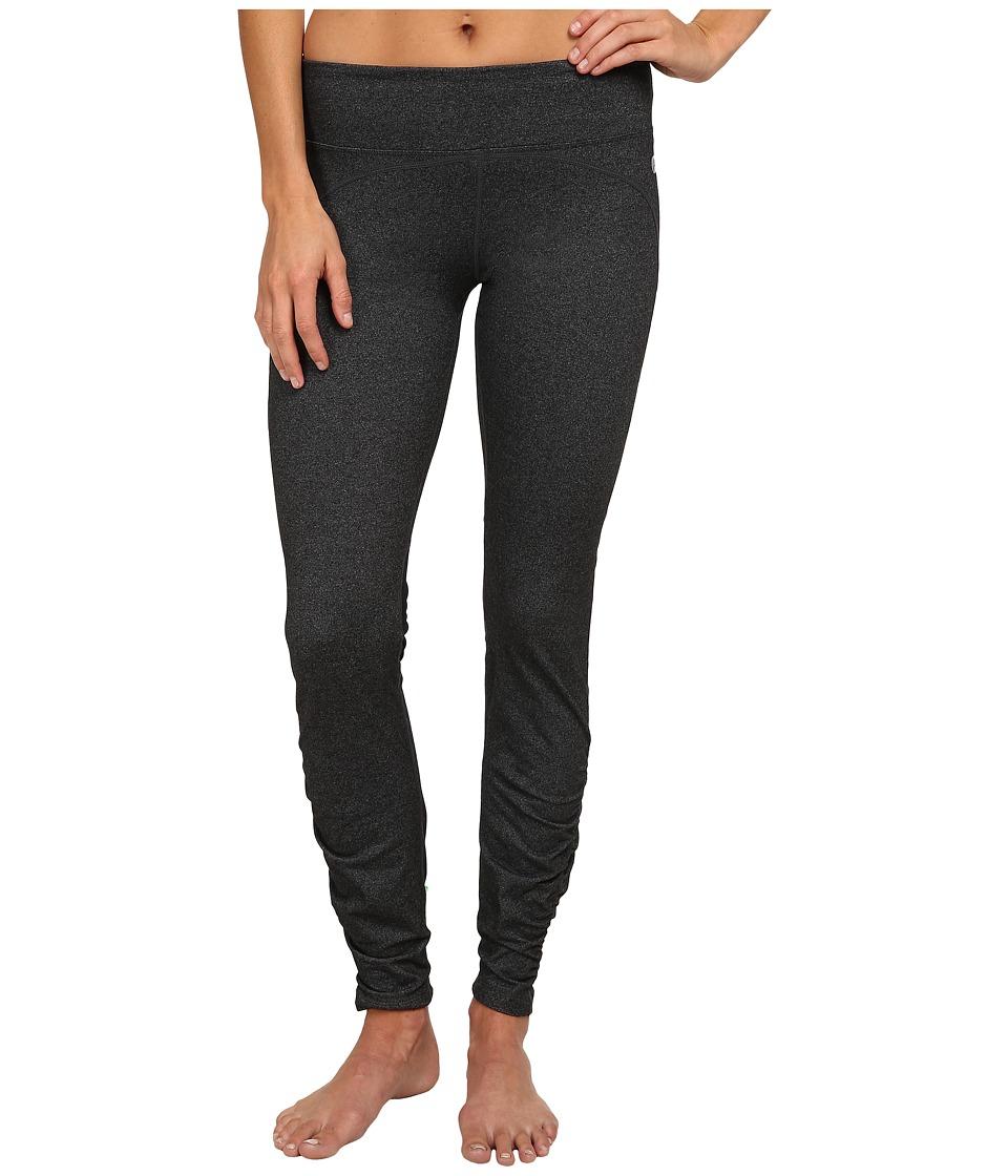 Terramar - Reflex Full Length Leggings W8848 (Charcoal Heather) Women's Casual Pants