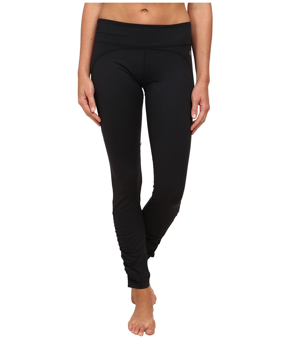 Terramar - Reflex Full Length Leggings W8848 (Black) Women's Casual Pants