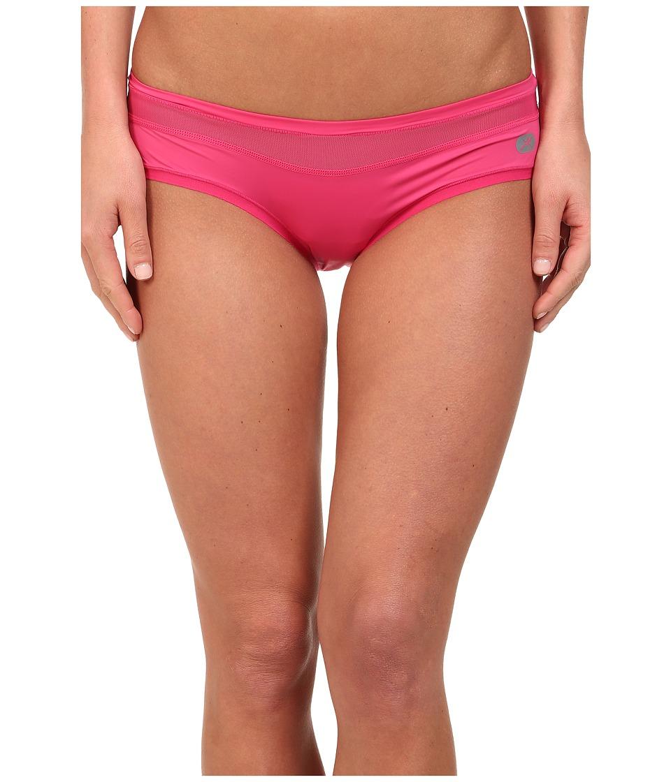 Terramar - Microcool Hipster W8820 1-Pair Pack (Geranium) Women's Underwear