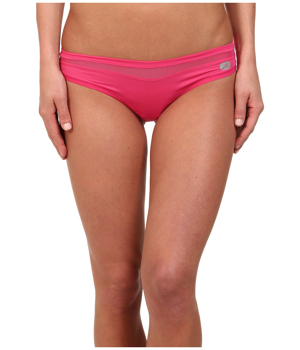 Terramar - Microcool Thong W8822 1-Pair Pack (Geranium) Women's Underwear