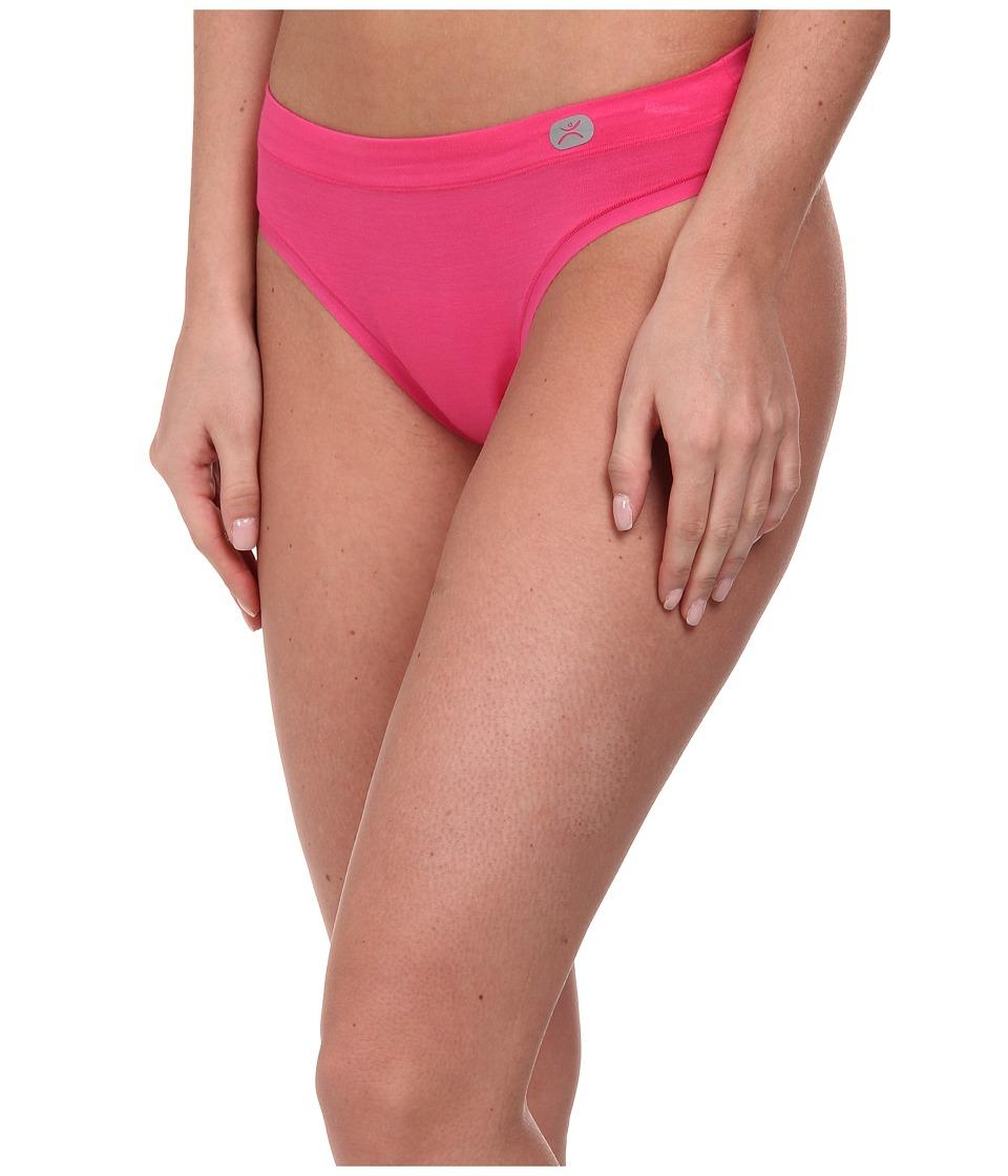 Terramar - Natara Performance Thong W8828 1-Pair Pack (Geranium) Women's Underwear