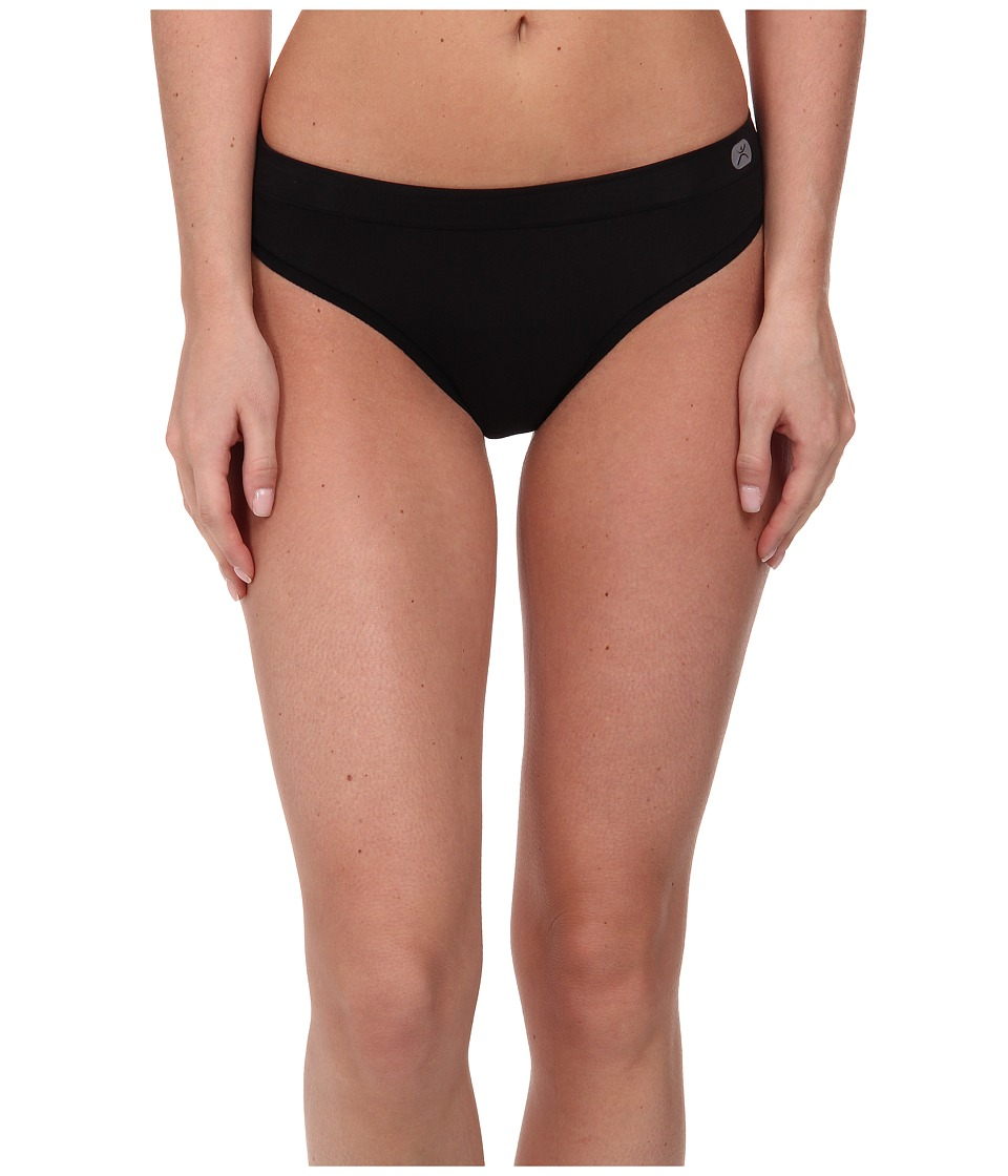 Terramar - Natara Performance Thong W8828 1-Pair Pack (Black) Women's Underwear