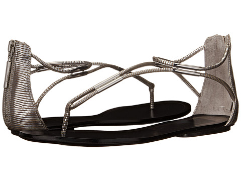 Dolce Vita - Marnie (Silver Lizard Embossed Stella) Women's Sandals