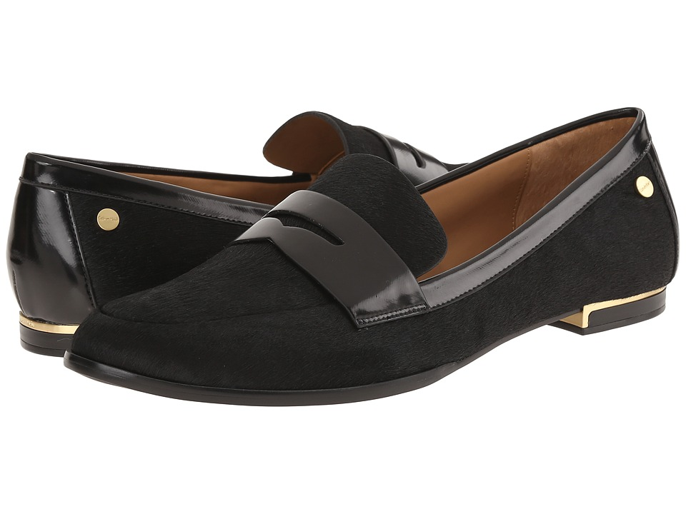 Calvin Klein - Celia (Black Hair Calf) Women's Shoes
