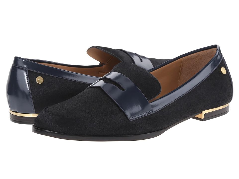 Calvin Klein - Celia (Deep Navy Hair Calf) Women's Shoes