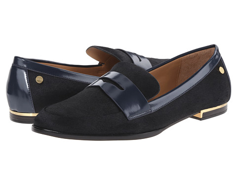 Calvin Klein - Celia (Deep Navy Hair Calf) Women's Shoes
