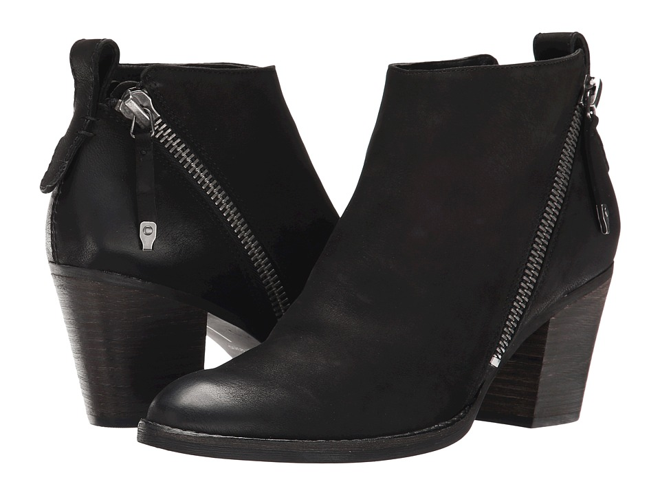 Dolce Vita - Jaeger (Black Leather) Women's Zip Boots