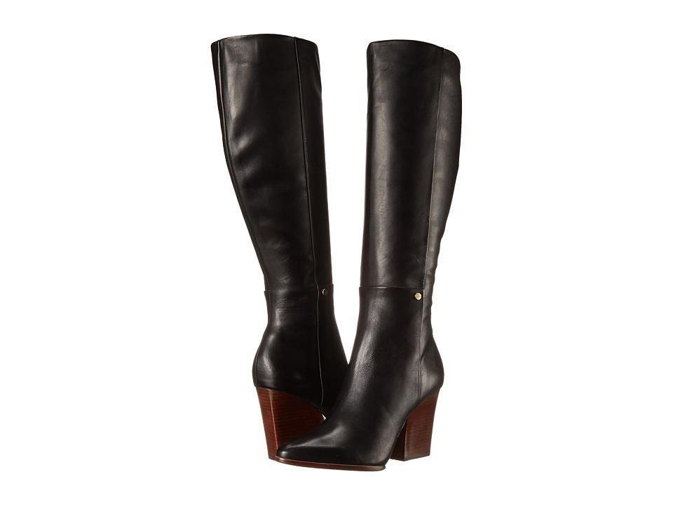 Calvin Klein - Zurie (Black Cow Silk) Women's Zip Boots