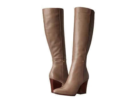 Calvin Klein - Zurie (Winter Taupe Cow Silk) Women's Zip Boots