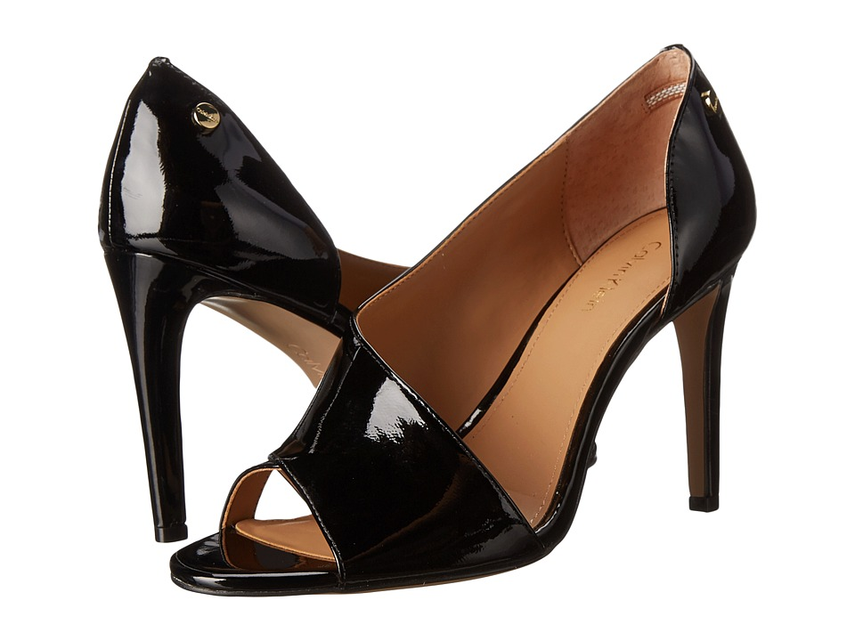 Calvin Klein Caelin (Black Patent) High Heels