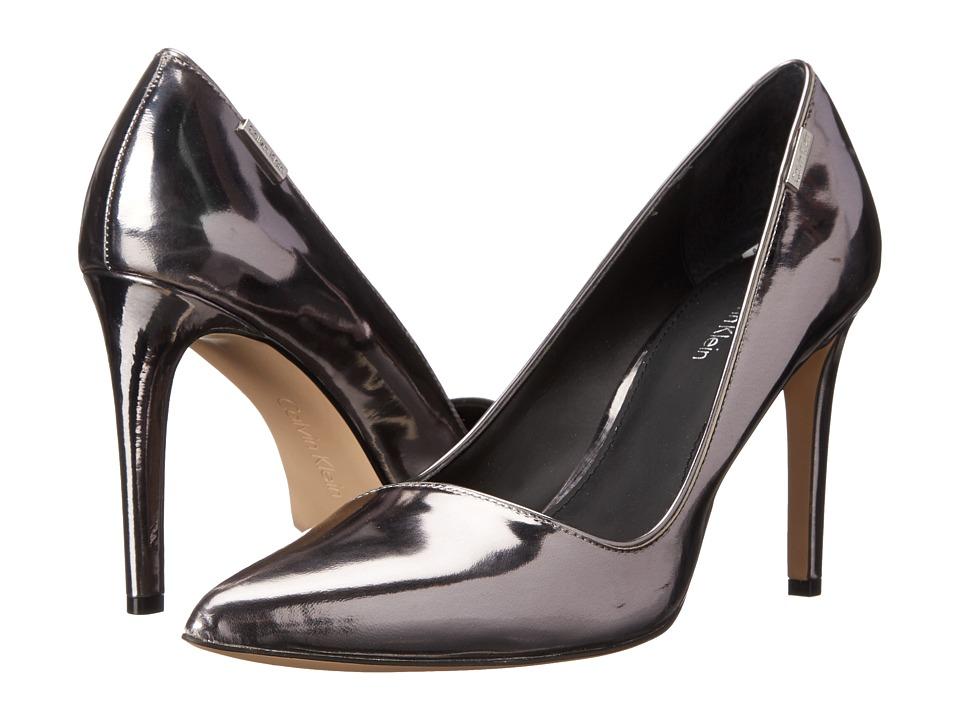 Calvin Klein - Calida (Steel Metallic Box) High Heels