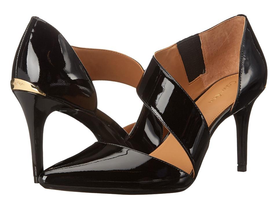 Calvin Klein - Gella (Black Patent) High Heels