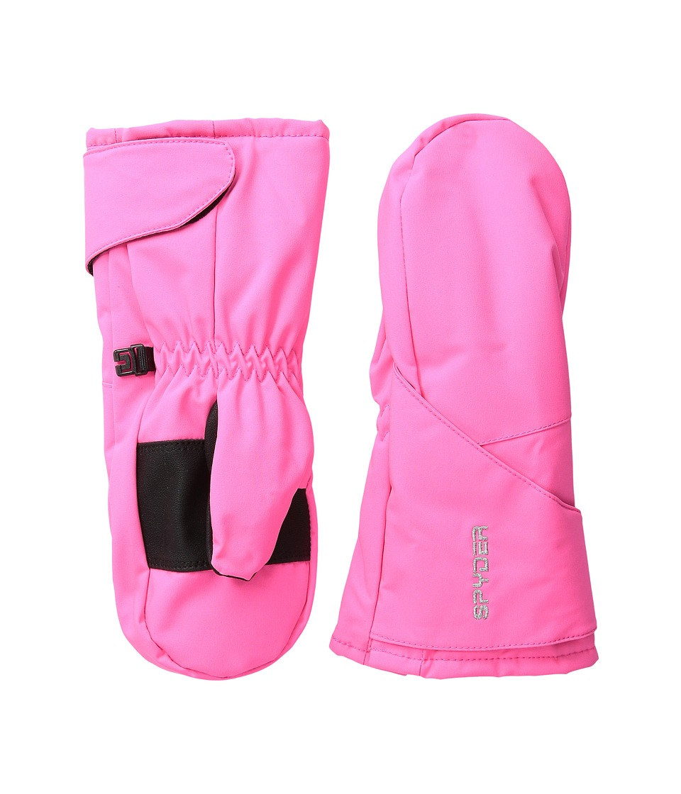 Spyder Kids - Bitsy Cubby Ski Mitten (Toddler/Little Kids/Big Kids) (Bryte Bubblegum) Ski Gloves