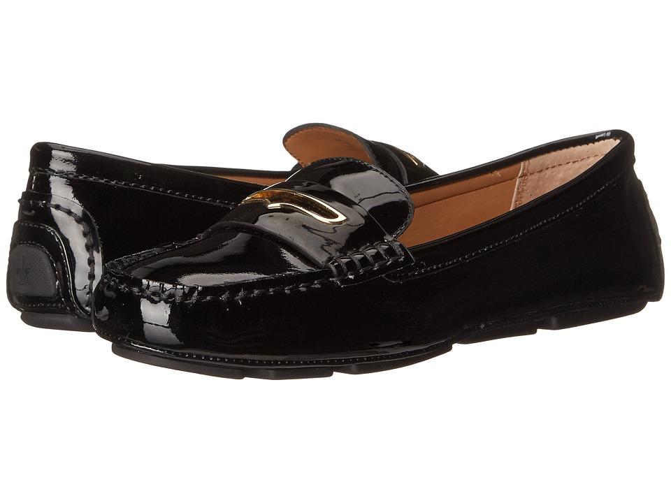 Womens Shoes Calvin Klein Lynsey Black Patent