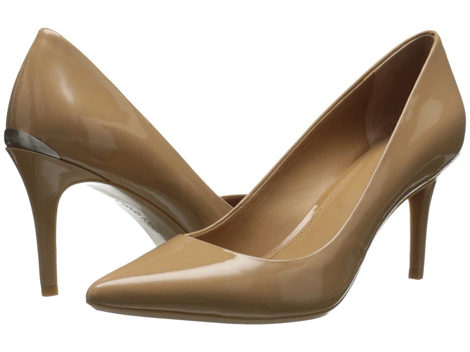 Calvin Klein - Gayle (Nude Patent) High Heels